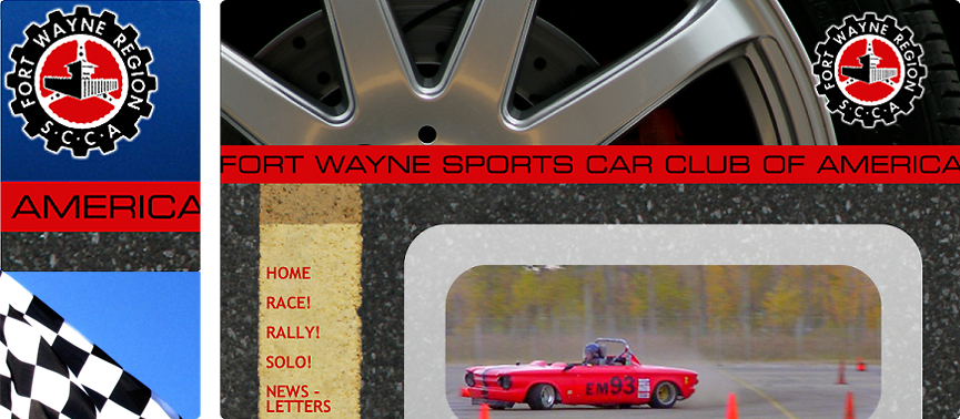Fort Wayne Sports Car Club of America home page and detail